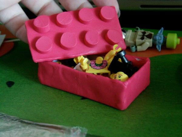 Lego Polymer Clay Box