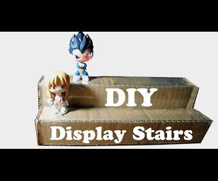 DIY : Display Stairs (Cardboard)