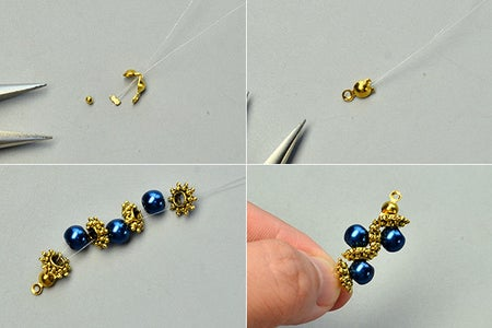 Instructions on How to Make These Ancient Pearl Beads Bracelet: