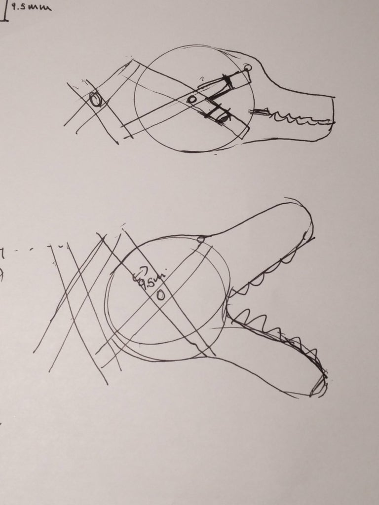 The Jaws: Sketching