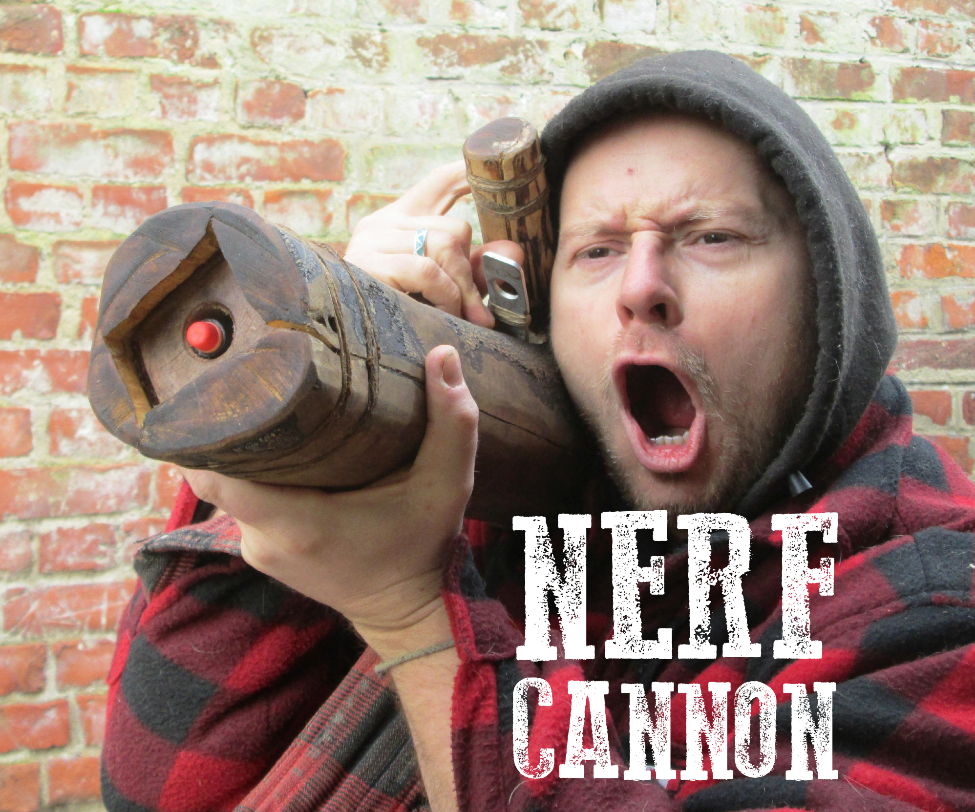 Handheld Tree Cannon - nerf style