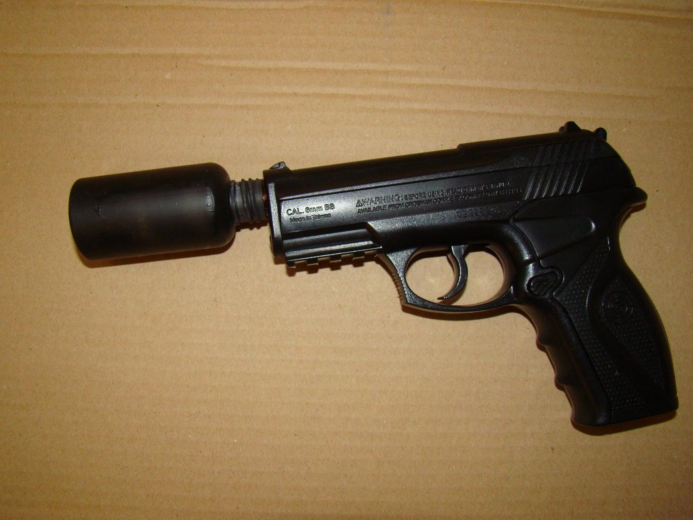 Airsoft Gun Silencer