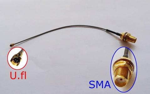 TP-LINK TL-MR3040 Antenna Mod Using U.FL SMT Connector