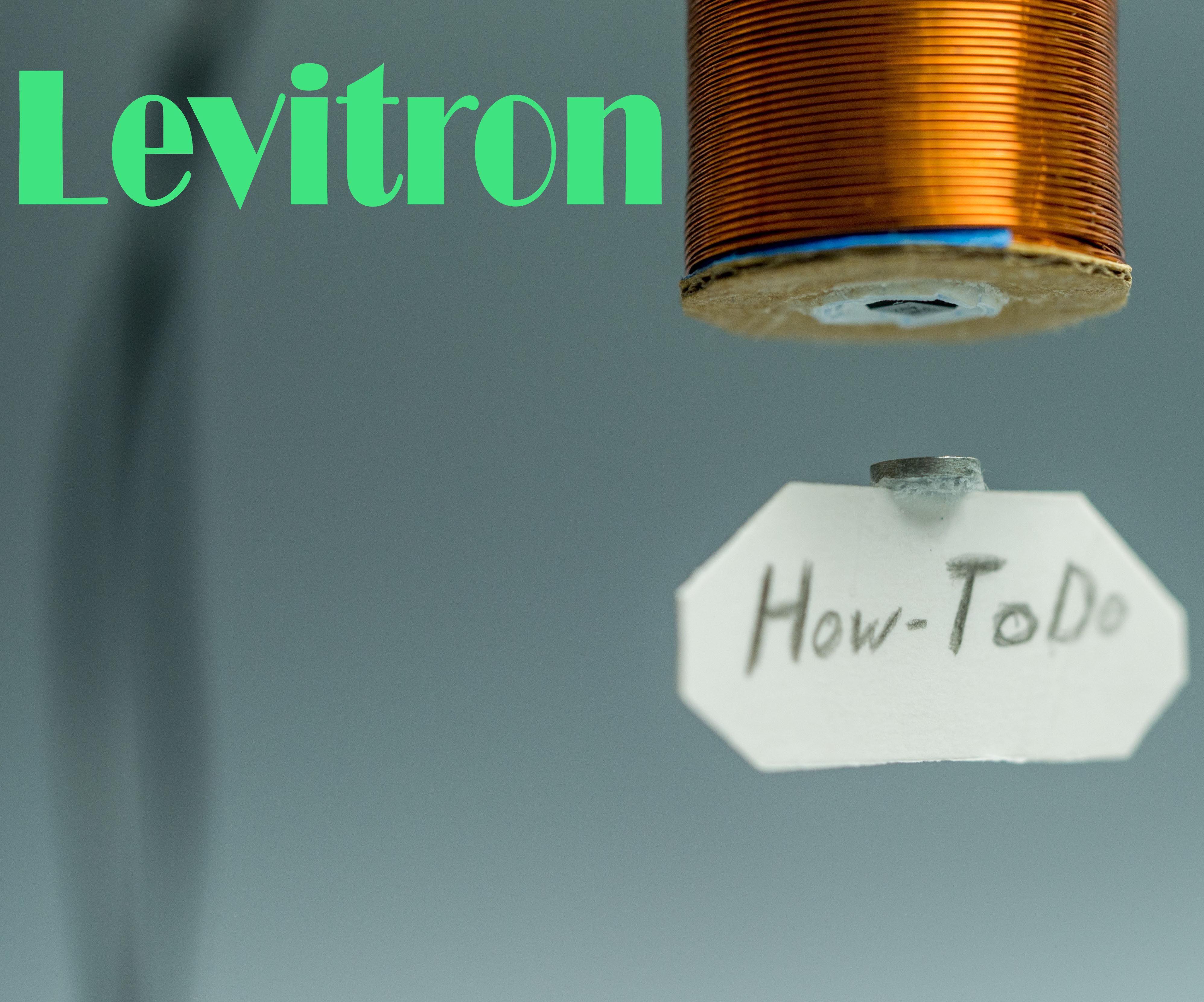 Levitron (electromagnetic levitation device)