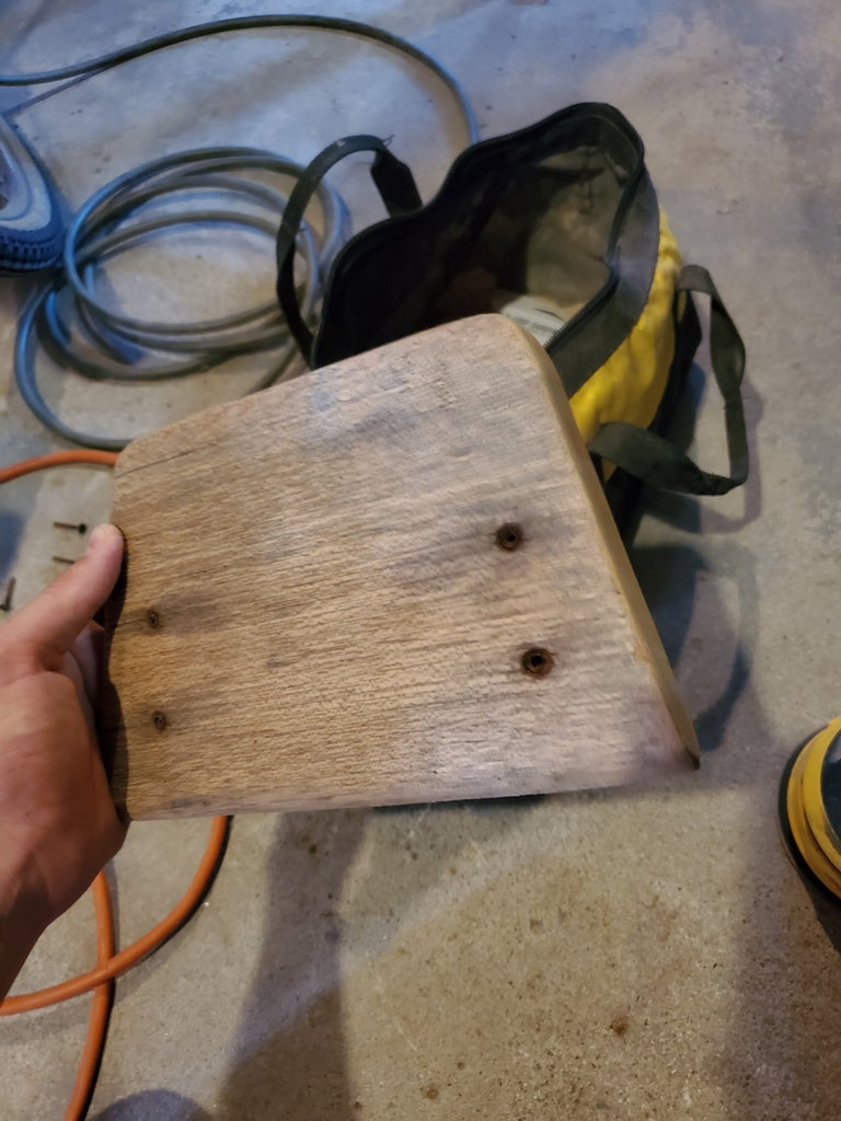 Sand Down the Wood