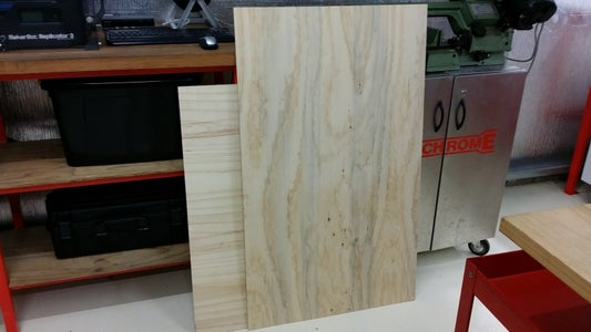Cut Plywood Sheet