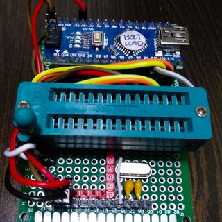 Atmega328P-PU Bootloader (Optiboot) Burning Guide