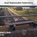 DUAL HUB 1000W ELECTRIC SKATEBOARD