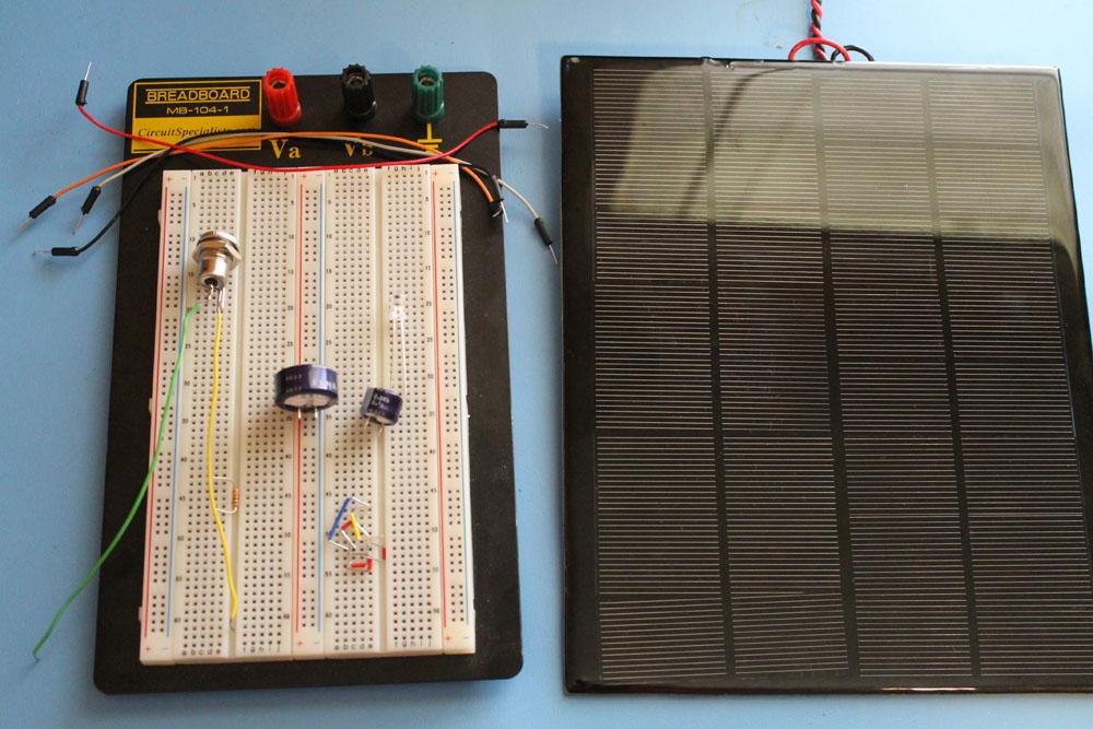 Uninterruptible Solar Power Supply