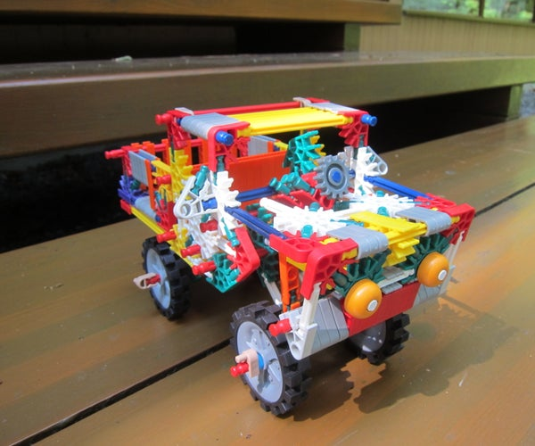 K'NEX Pickup Truck With Dump Bed