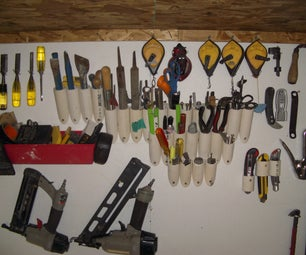 Quick, Cheap, and Easy Tool Organizer