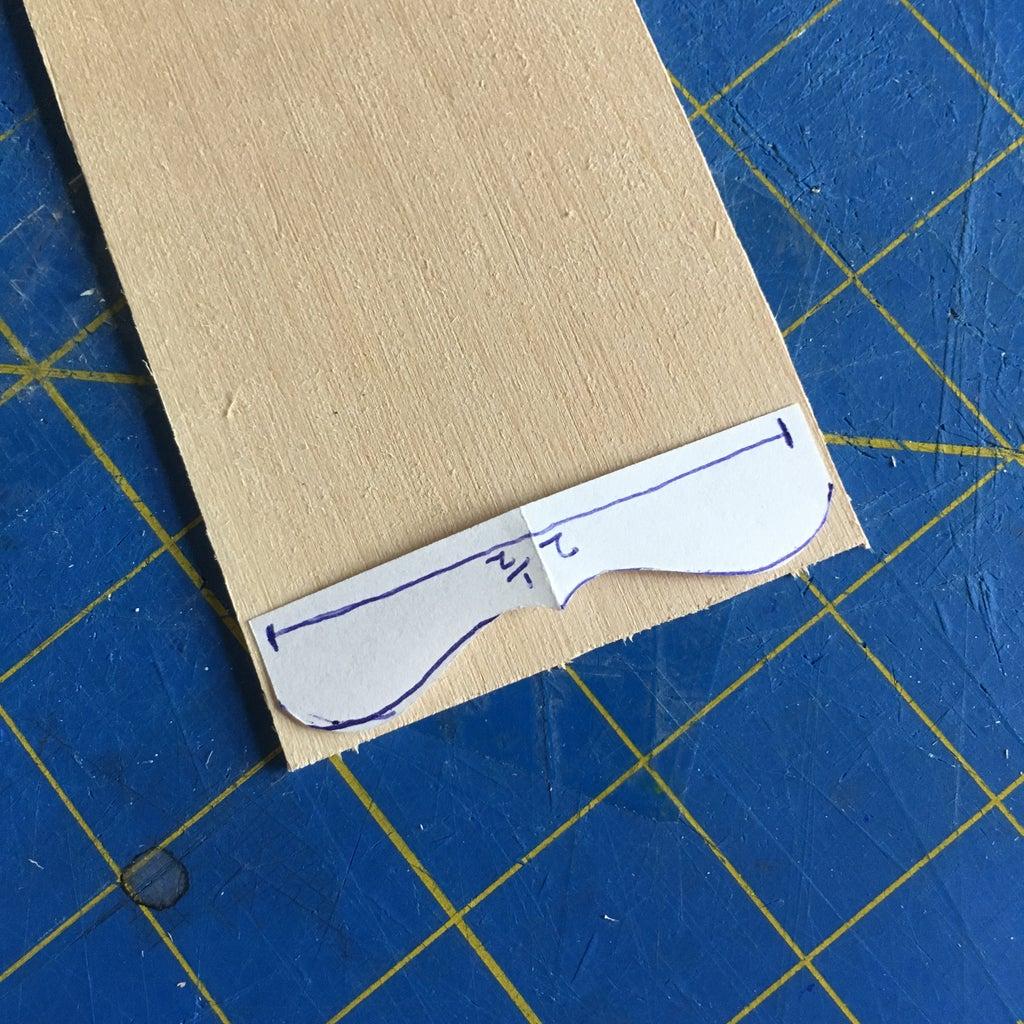 Cutting the Shelf Pieces