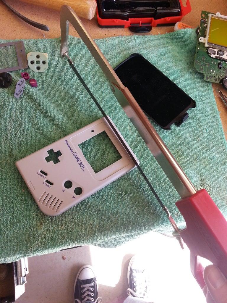 Game Boy Mod - Front Half