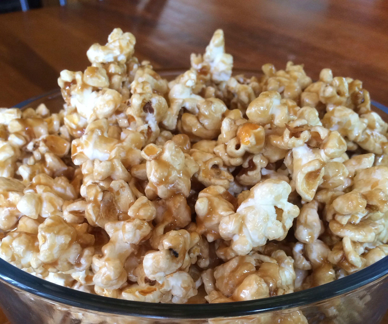 Sweet & Salty Caramel Corn