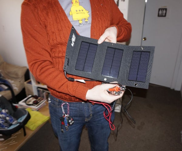Testing Solar Panels With a Mooshimeter