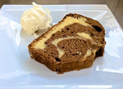 White + Chocolate Marble Cake