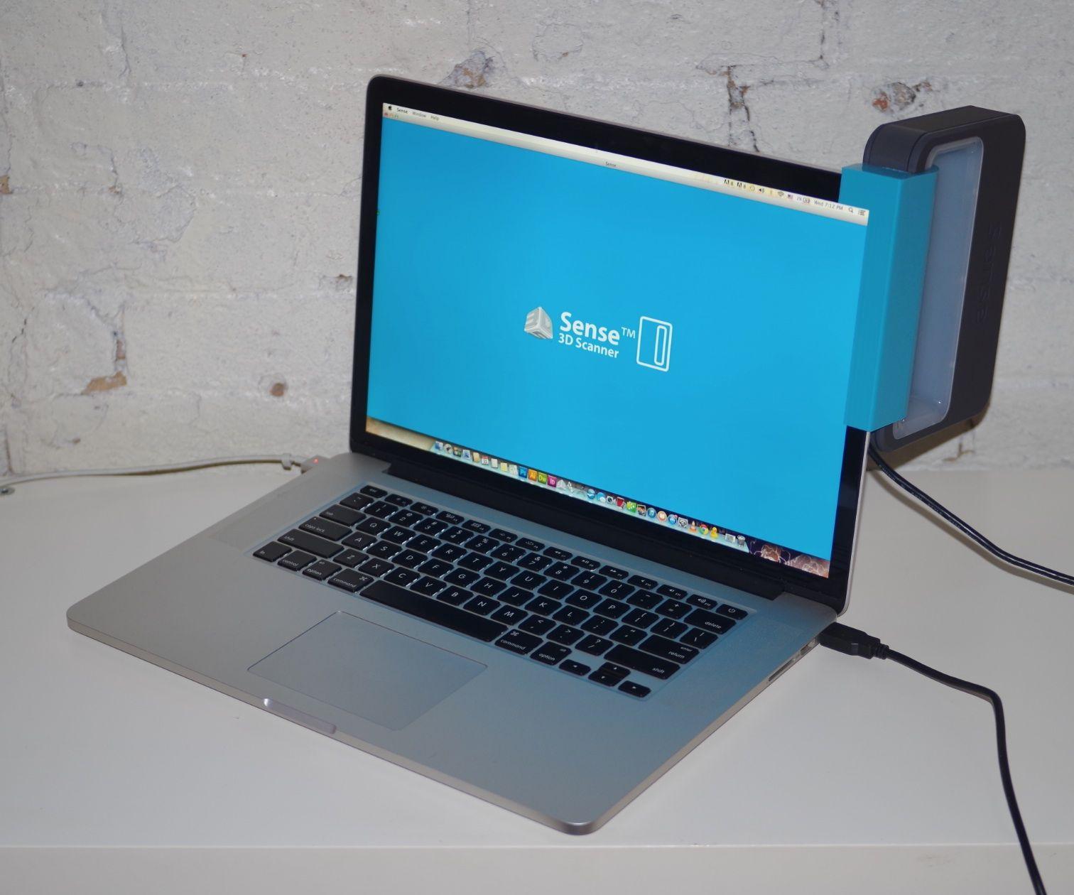Sense Scanner Holder for MacBook Pro