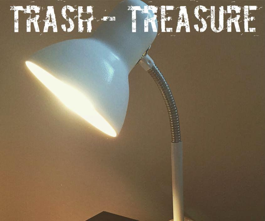 Trash to Treasure - Lamp