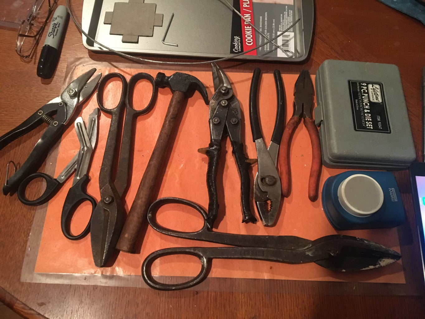 Parts and Tools Needed