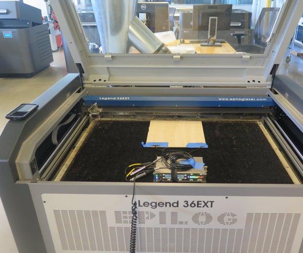 Industrial ASMR: Mining Epilog Laser Cutters for Sound