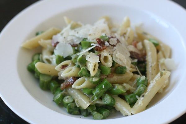 Very Green Asparagus Pasta