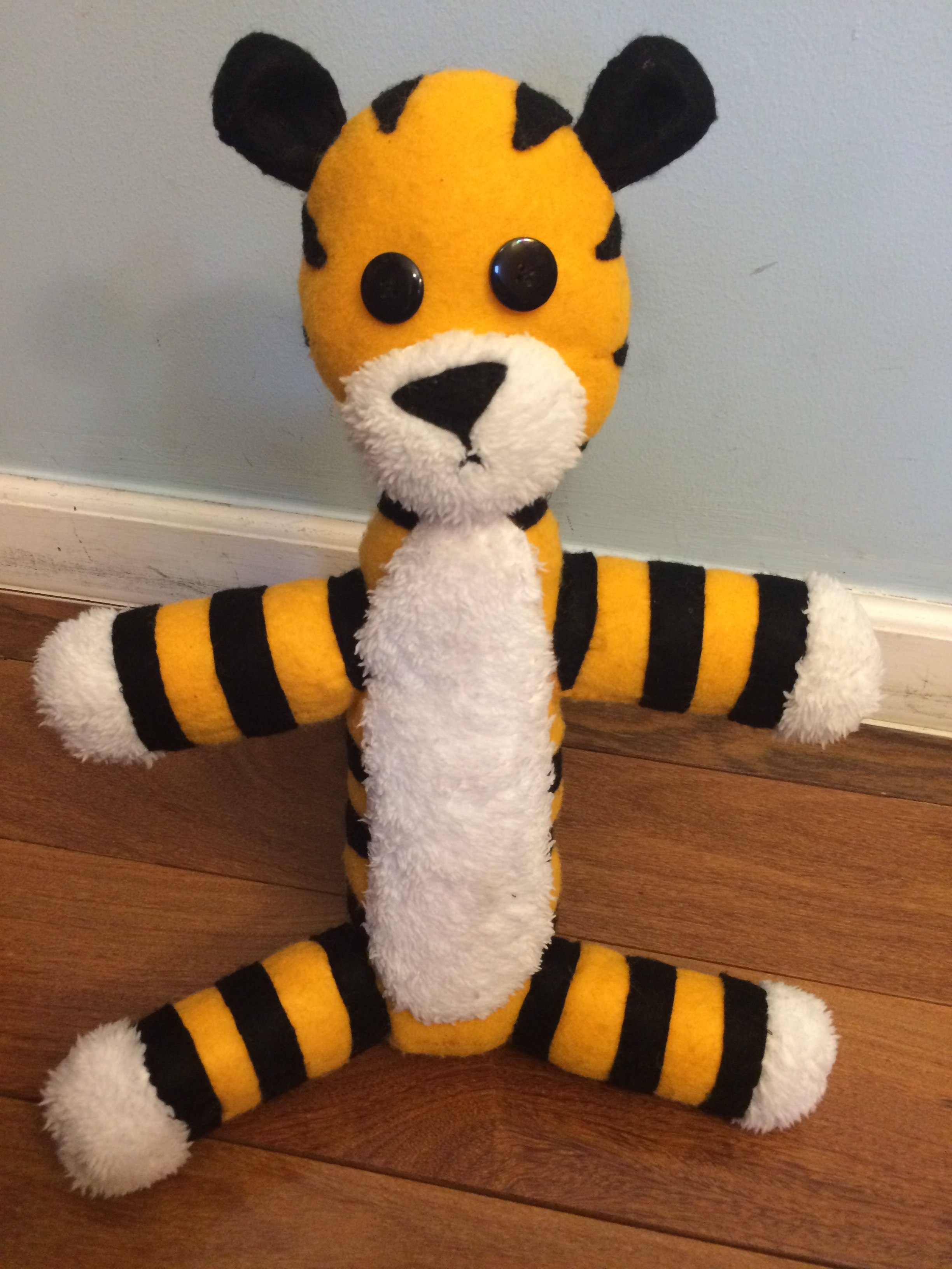 Stuffed Hobbes (with Pattern)
