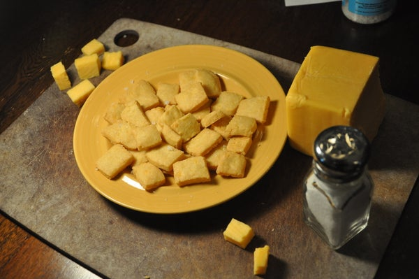 Make Your Own Cheez-it Crackers!