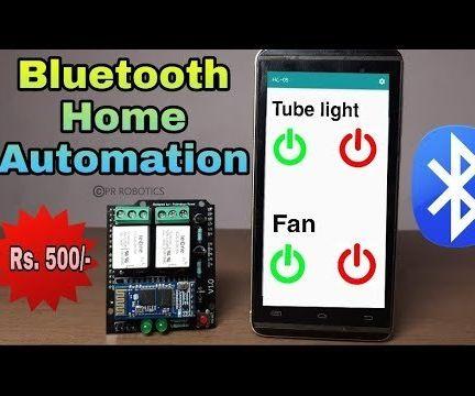 Bluetooth Home Automation Cum Relay Module Shield