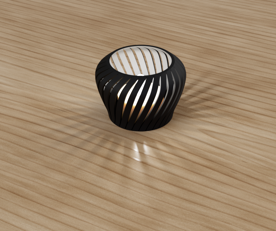 Tealight Candle Holder: Fusion 360 Project