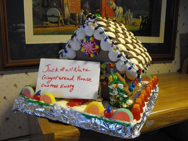 Gingerbread House Contest Submission