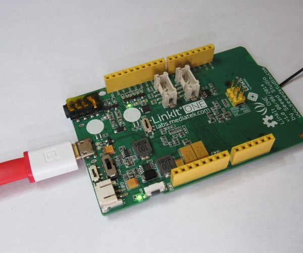 Control LED Over WiFi Using Linkit One Board