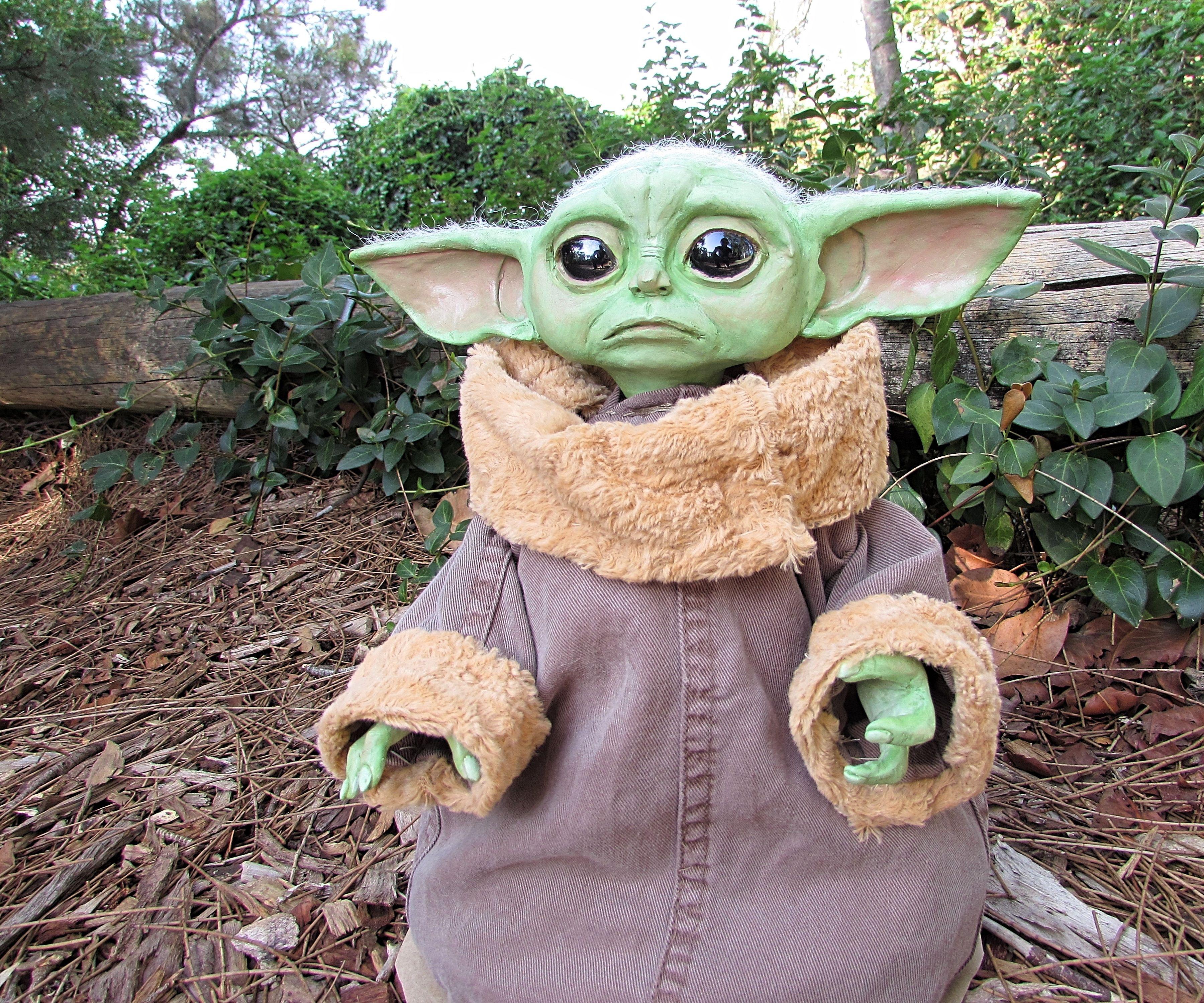 Baby Yoda Art Doll Tutorial