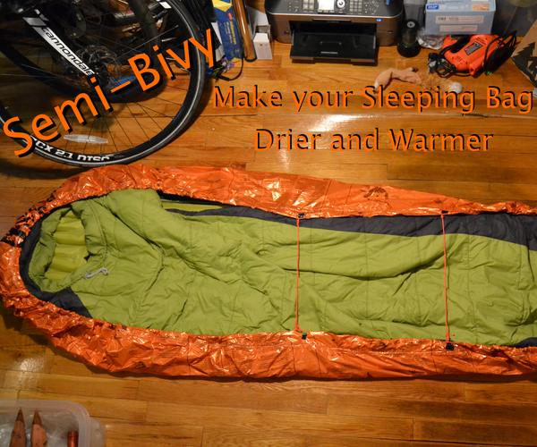 Semi-Bivy: Keep Your Sleeping Bag Dry and Warmer