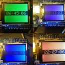 Arduino TFT Color Clock