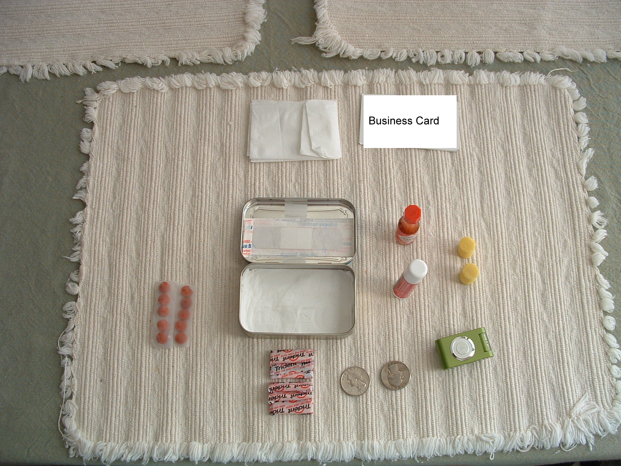 Ideas for Altoids (and other) tins