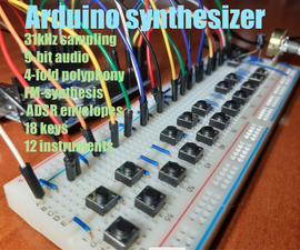 Arduino Synthesizer With FM