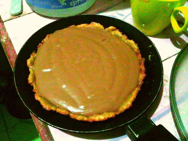 Unique No Oven and No Bake Chocholate Agar Pie