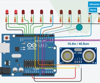 Automatic Street Lights Using Ultrasonic Sensor