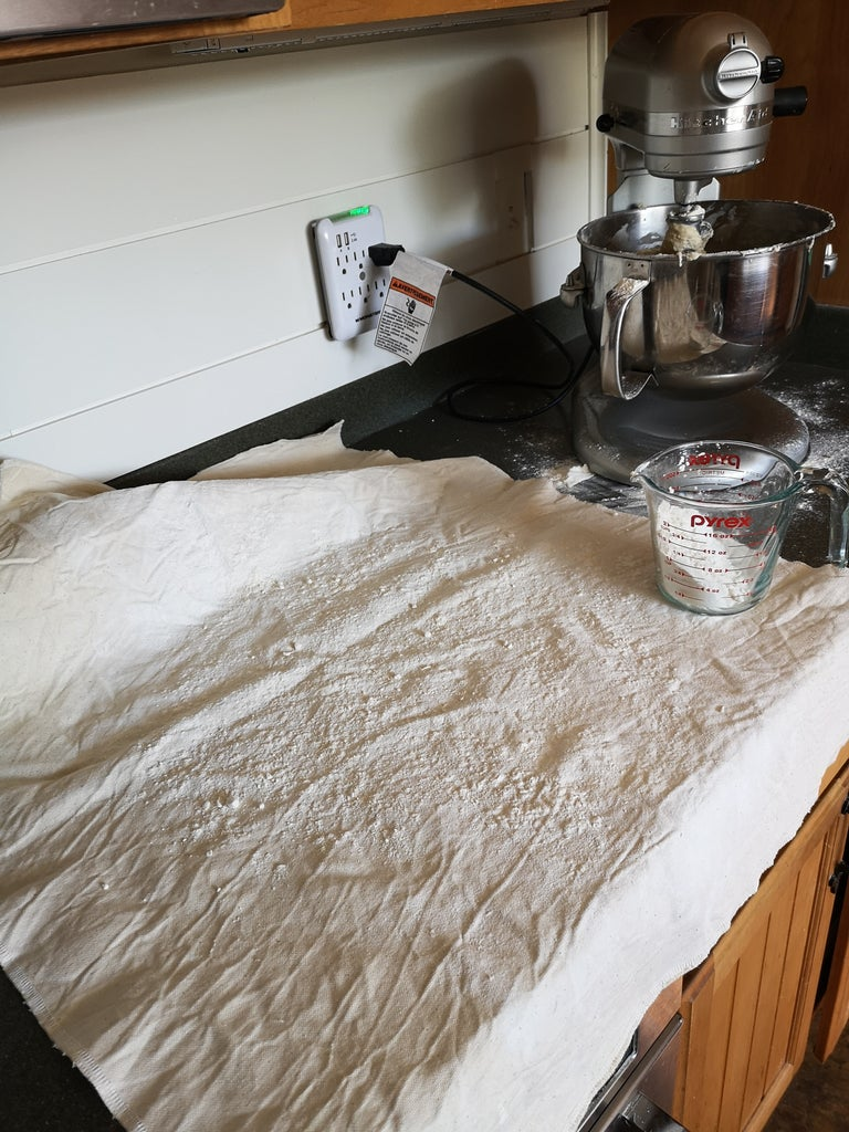 Final Knead and First Rise