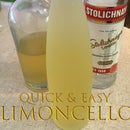 Quick and Easy Limoncello