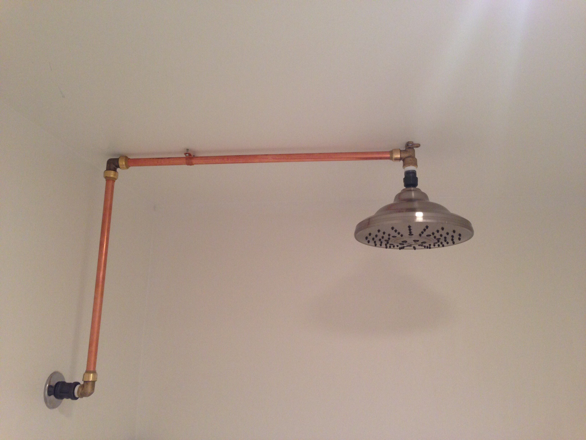 Ceiling Mounted Waterfall Shower