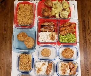Meal Prep Boot Camp: 20 Meals in 2.5 hours!