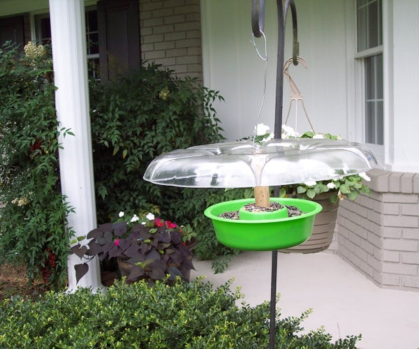 Super Cheap & Easy Bird Feeder With Roof