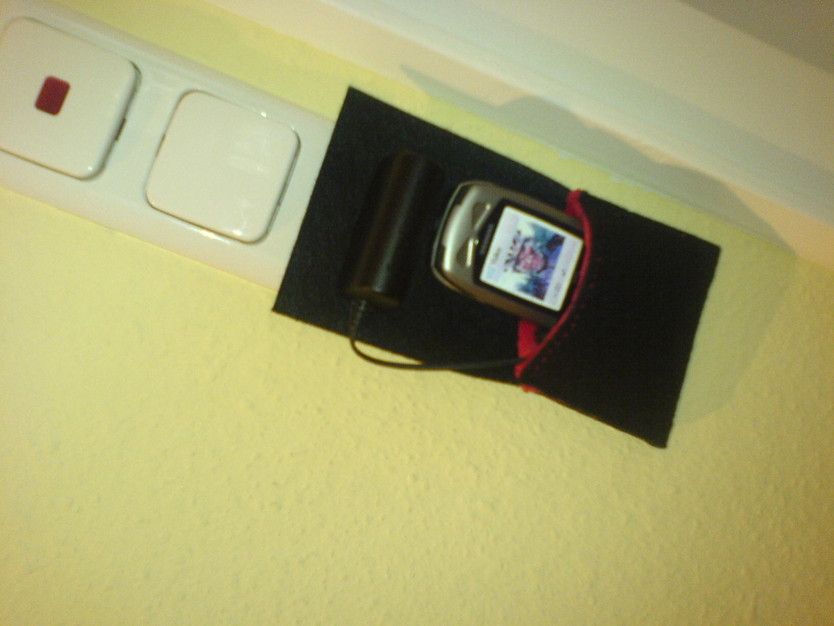 Cellphone Charging Hanger