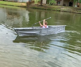 How to Make a Duct Tape Canoe
