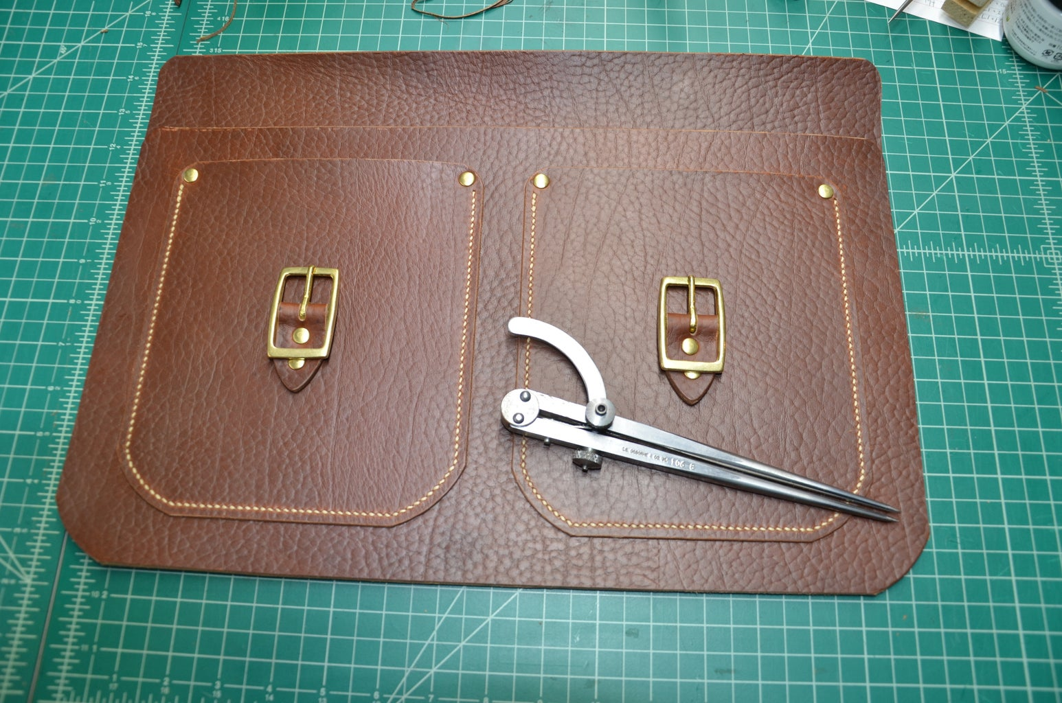 Step 9: Punch Stitching Holes