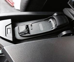 Remove BMW Phone Cradle