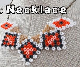 Hamabead Necklace - DIY Jewelry