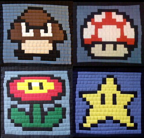 Sewing Pixel Art Bags