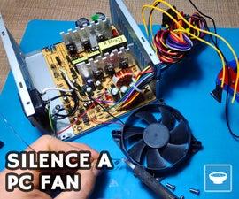 Silence a Power Supply Fan